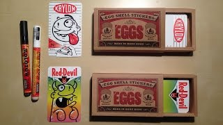 EggShell Sticker Unboxing & Drawing