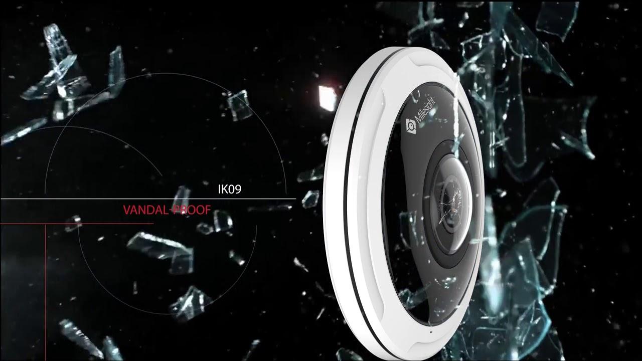Milesight 12MP Fisheye Network Camera