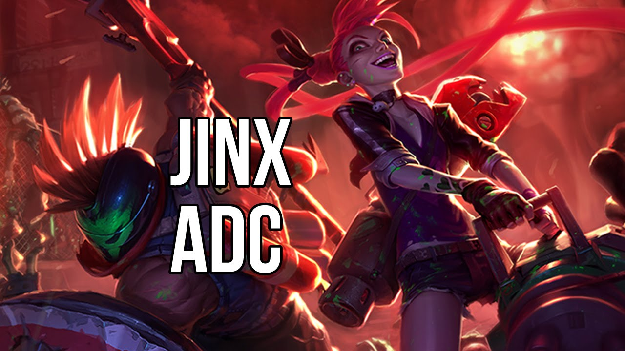 Dragon Skin Girl Wallpaper League Of Legends Slayer Jinx Adc Full Game Commentary