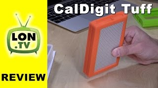Caldigit TUFF External Ruggedized Hard Drive Review - USB-C