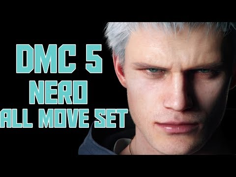 Nero All Moveset Devil May Cry 5 | DMC 5 Nero Moveset | Devil Buster thumbnail
