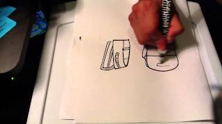 How to Draw a Backpack - Easy Pictures To Draw
