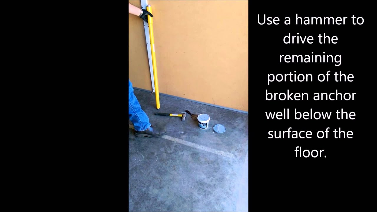 How to Remove Concrete Anchors: The Complete Guide