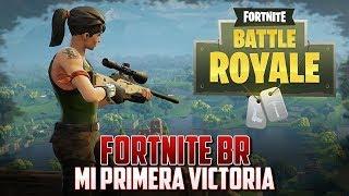 Primera victoria campal Fortnite #1