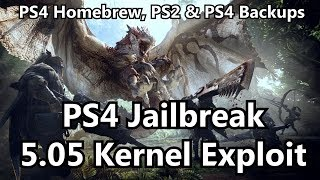 How to jailbreak your PS4: 5.05 Kernel exploit guide