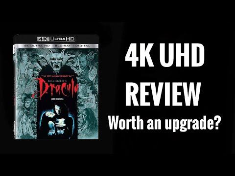 BRAM STOKER'S DRACULA 4K ULTRAHD BLU-RAY REVIEW | IS IT WORTH AN UPGRADE?