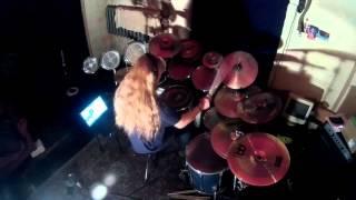Skyrim main theme (Dragonborn) - drum cover