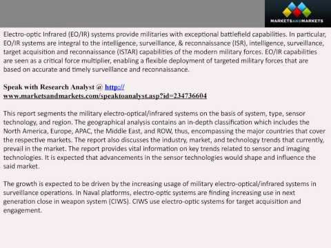 Military Electro-Optical / Infrared Systems Market by Type & System - 2020 | MarketsandMarkets