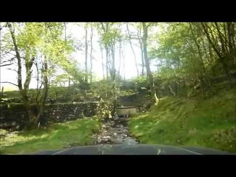 May 2014 Scenic Mid Wales green laning with the Muddy Millers