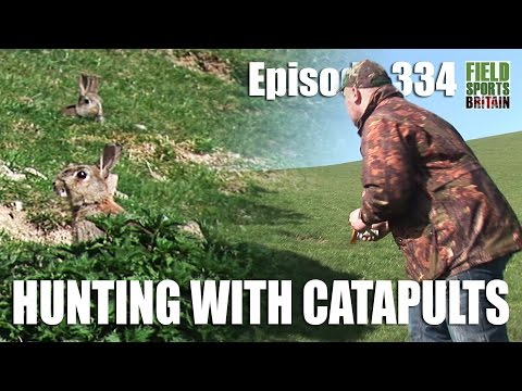 Fieldsports Britain - Hunting With Catapults