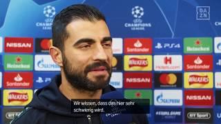 Raúl Albiol im Interview mit DAZN vor Liverpool vs Neapel