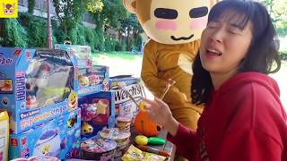 뽀로로 짜장면 삼촌 불닭볶음면 소스 넣어서 먹어봤어요! 주방놀이 요리놀이 장난감 놀이 모음 Pororo Noodle pretend play | MariAndKids Vlog