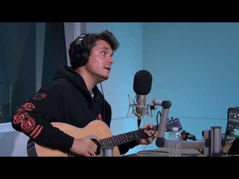 John Mayer - Improvising a song on Livestream - May 10th 2018  (Beats1 Interview) Apple Music