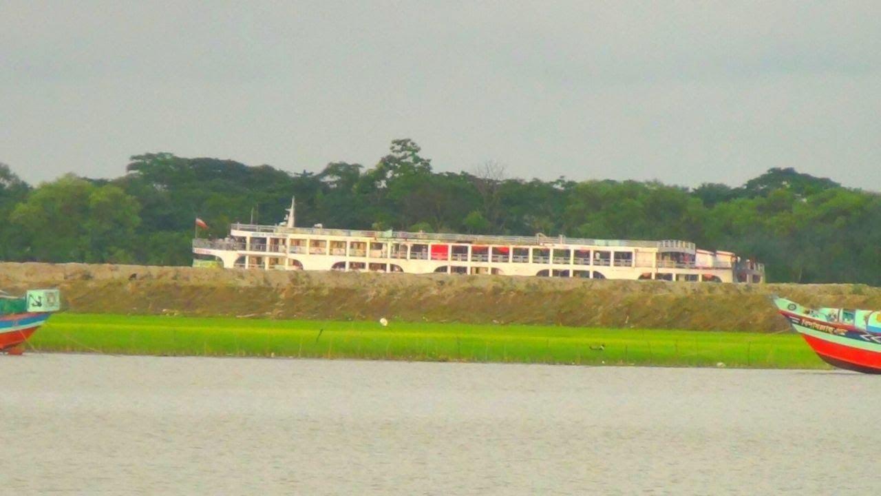 পটুয়াখালীর বুড়ো সত্তার খান ১ যাত্রী বোঝাই ঢাকার উদ্দ্যেশে যাত্রা করল।।Sotter Khan 1 Launch Video