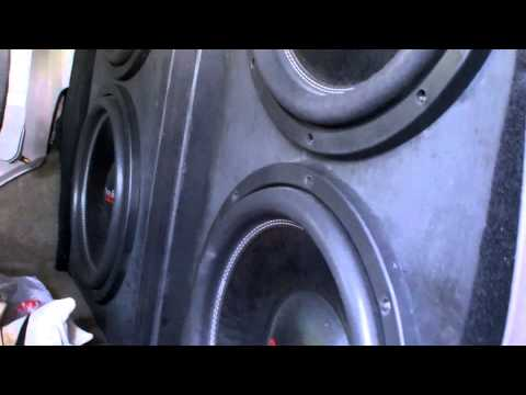 4 AMERICAN BASS HD 15s WITH LOUD MIDS & HIGHS