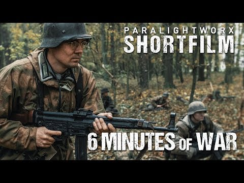 SIX MINUTES OF WAR (WW2 Short Film) German Side [4K]