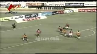 هدف فوز الأهلي 1 مقابل 0 المنصورة لمحمد جودة الأسبوع الخامس عشر للدوري 7 فبراير 2003