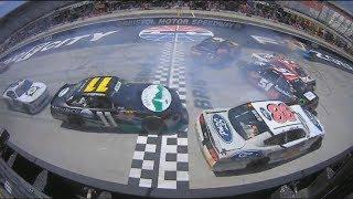 NASCAR Xfinity Series 2018. Bristol Motor Speedway. Multi Car Crash