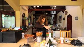 Raw Food Recipe - Raw Burgers