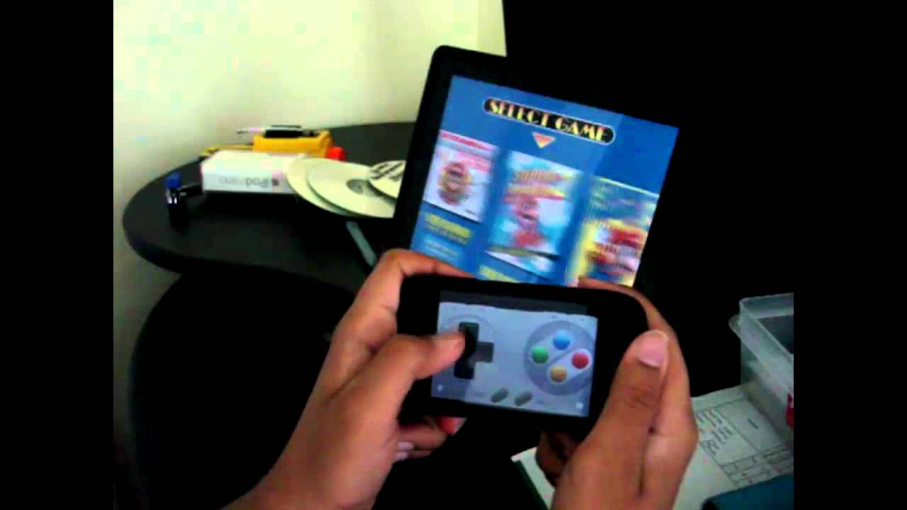 iPad SNES emulator (HD) w/ iphone as controller- review
