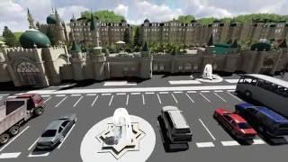 AAAF Park Lənkəran - 3D