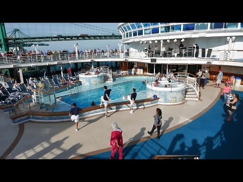Sail Away Party Princess Cruises Ruby Princess Port of Los Angeles
