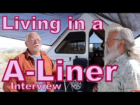 Living in an A-Liner Pop-Up Trailer, and Loving it!!
