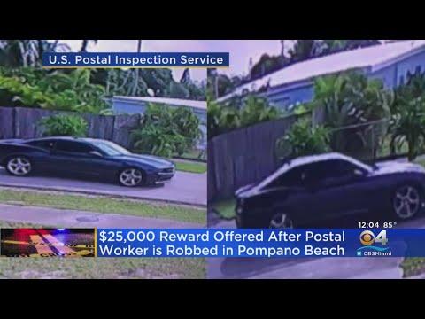 $25K Reward Offered In Pompano Beach Postal Worker Robbery