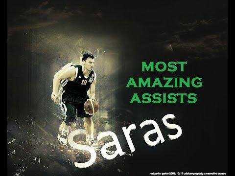 Šarūnas Jasikevičius - Most amazing assists in Panathinaikos   HD
