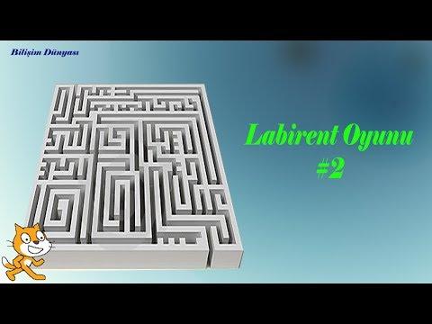 Scratch Ile Labirent Oyunu 2 (Bölüm İlerlemeli)