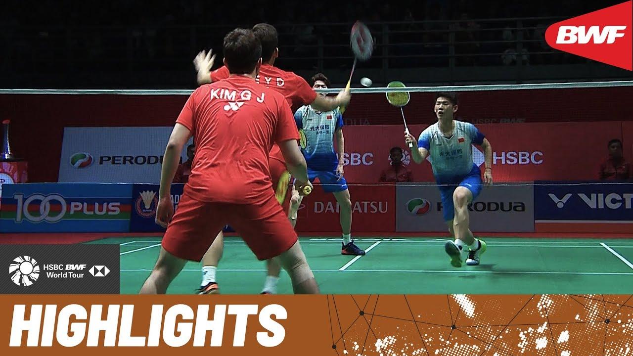 PERODUA Malaysia Masters 2020  Finals MD Highlights  BWF