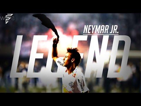 Neymar Jr. - Santos Legend - Amazing Young Skills/Goals! | 4K