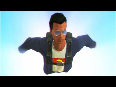 GTA 5 - SUPERMAN STUNTS