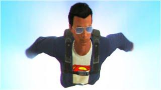 GTA 5 SUPERMAN (Skydiving GTA 5 Stunts)