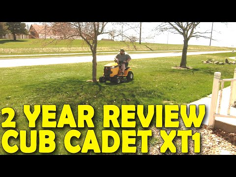 CUB CADET XT1 2 YEAR REVIEW! (Watch Before Buying)