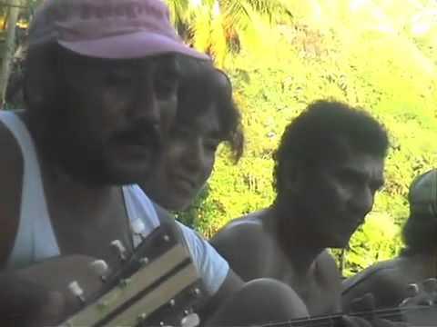 Locals Making Music Fatu Hiva, French Polynesia 1997