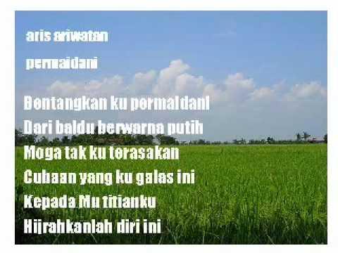 Aris Ariwatan - permaidani (dgn lirik)