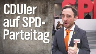 Unser CDU-Mann beim SPD-Sonderparteitag | extra 3 | NDR