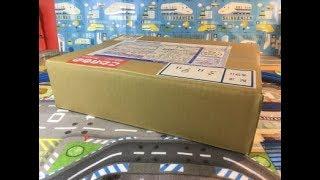 プラレールのミステリーパックを解く unpack mystery pack of plarail (04161)