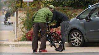 Premier contrôle d'un vélo équipé d'un moteur