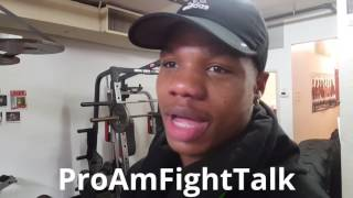 antoine mreasy douglas talks about his career and the progression of swift jarrett hurd
