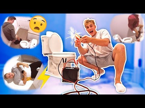 Thumbnail: ELECTRIC TOILET SEAT PRANK (DON'T SIT DOWN)