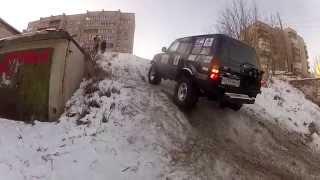 4х4 extreme UAZ Patriot Попытка ТЛК 80 вгору