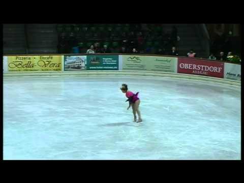 Karen Dalley, 2nd Silver III Free skating.vob