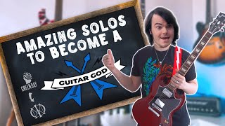 5 AMAZING Guitar Solos You Should LEARN (Beginner To Guitar God)
