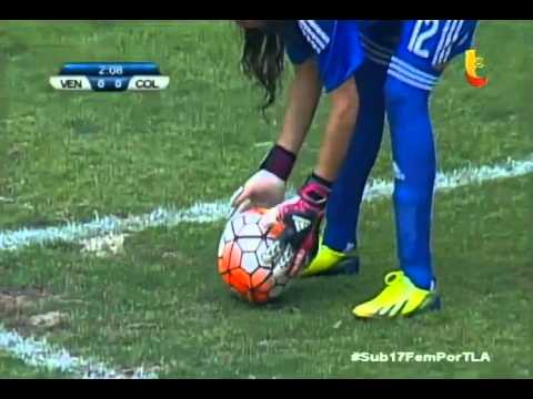 Venezuela vs Colombia Sudamericano Femenino sub - 17 (2016)