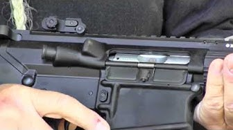 Shooting the NEW Ruger SR-762 Semi-Auto 7.62x51mm NATO (308 Winchester) AR-Style Rifle- Gunblast.com