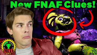 Reacting to NEW FNAF Security Breach Teaser Images!