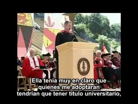 Discurso de graduacion de steve jobs en español