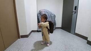 2019년 아빠의 육아휴직(68일차) 어린이집 가방은 …